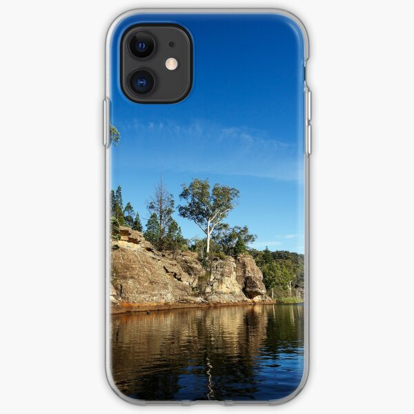 Cliff side iPhone Soft Case