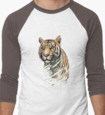 Tiger Baseballshirt für Männer