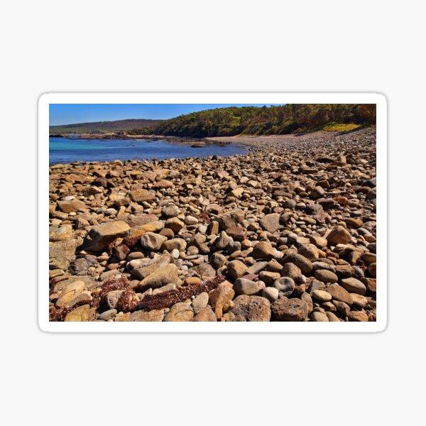0102 Stony beach - Mimosa Rocks Sticker
