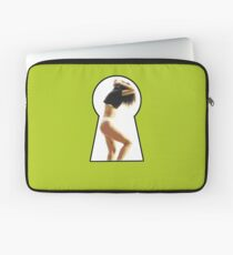Woman in the Keyhole Laptop Sleeve
