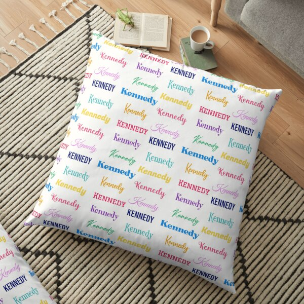 Kennedy - Baby Names Girls Unique - Personalized Gift For Her -  Floor Pillow