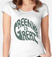 Greenwood Is Great Women's Fitted Scoop T-Shirt