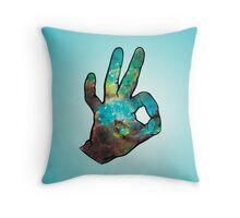 Space-Okay Throw Pillow