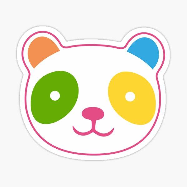 Panda Rainbow mignon Sticker