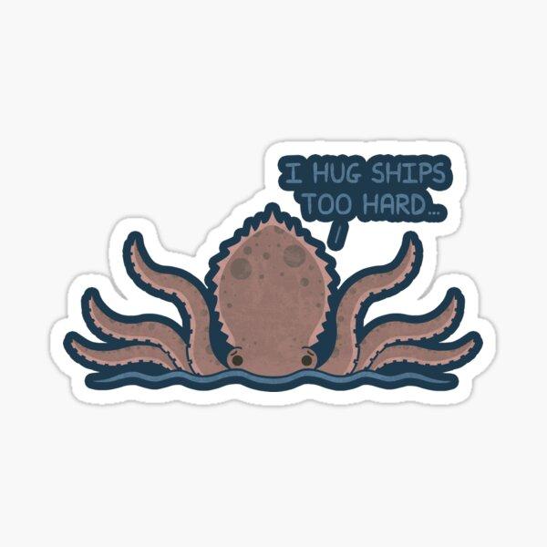 Monster Issues - Kraken Sticker