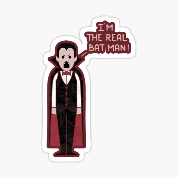 Monster Issues - Dracula Sticker