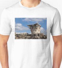 Ancient Pompeii Broken Treasures - Classical Corinthian Column Capital Right Unisex T-Shirt