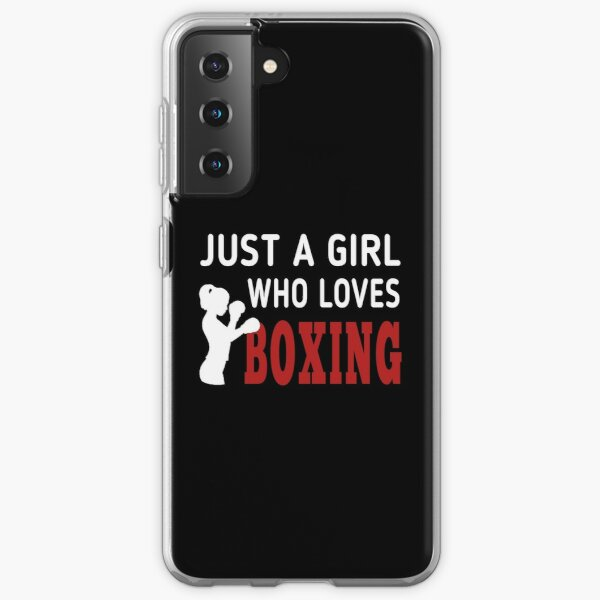 Just Girl Who Loves Boxing ,classic t-shirt  Samsung Galaxy Soft Case