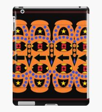Flow Chart Orange iPad Case/Skin