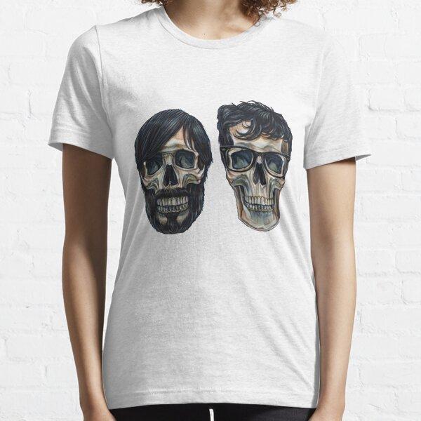Les touches noires T-shirt essentiel