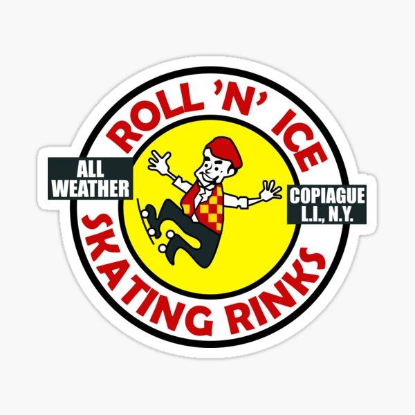 Roll 'N' Ice Skating Rinks - Copiague, New York Sticker