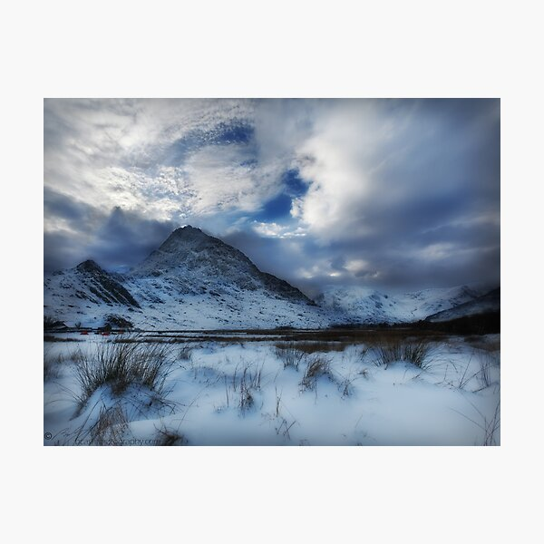 Winter at Tryfan Photographic Print