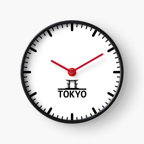 Tokyo Time Zone Clock