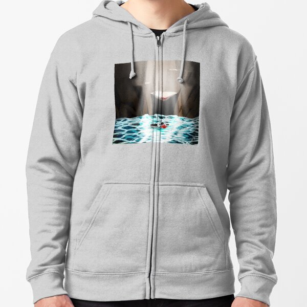 The Death of James Zipped Hoodie