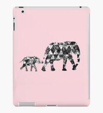 Patchwork-Elefant iPad-Hülle & Skin