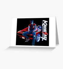Kavinsky v2 Greeting Card