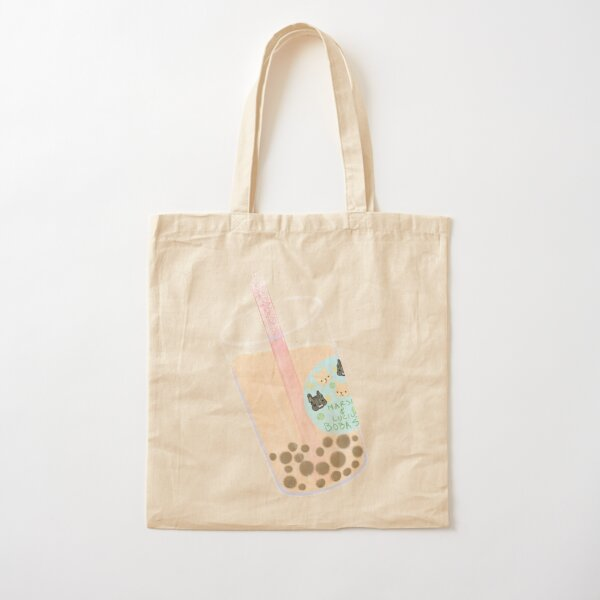 Marshy & Lucius Boba Shop Cotton Tote Bag