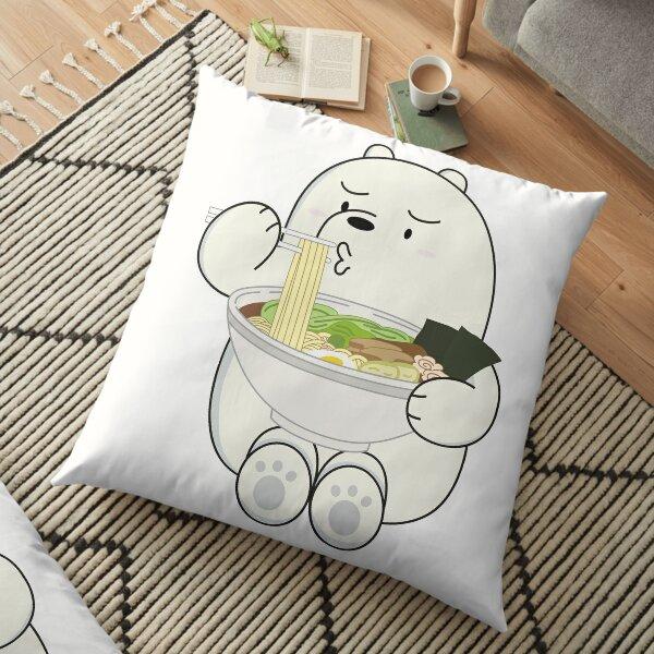 Eisbär Bodenkissen