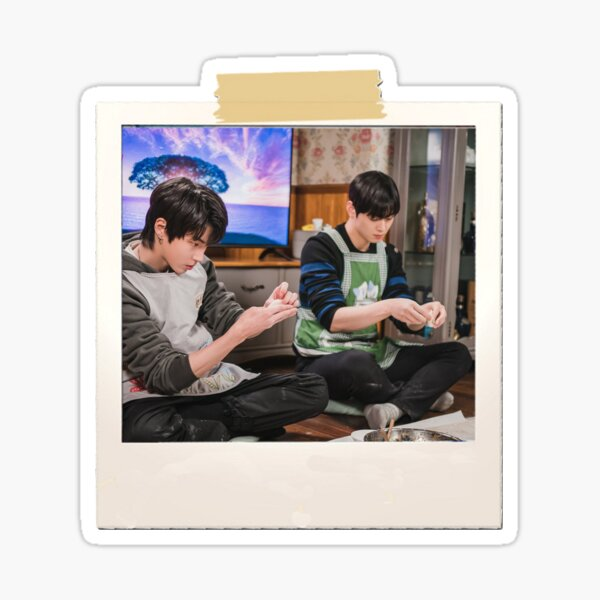 Polaroid - True Beauty - Seo Jun & Su Ho Sticker