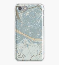 Firenze Map (Winter) iPhone Case/Skin