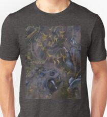 Manjushri Lion detail  Unisex T-Shirt