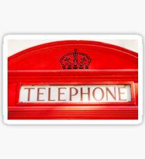 BT Telephone booth Sticker