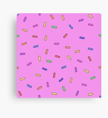 sprinkles Canvas Print