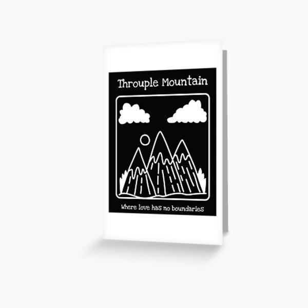 Throuple Mountain Greeting Card