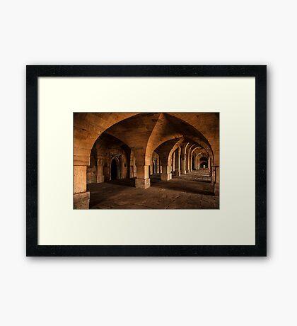 Afghan Arches Framed Print
