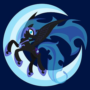 Nightmare Moon Minimalistic by Stainless33