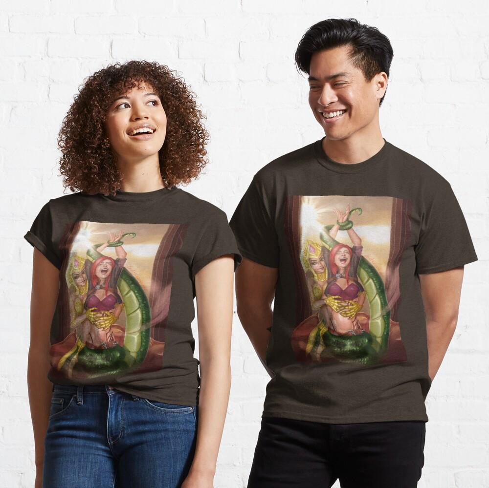 Lamia Warrior Tickling Classic T-Shirt