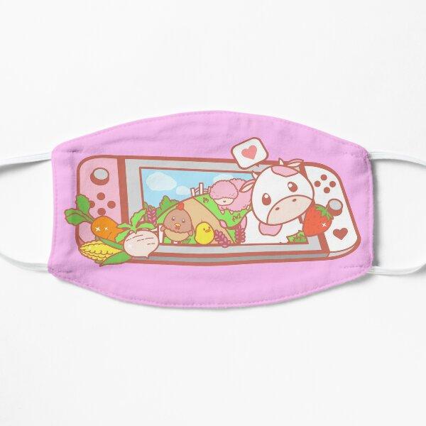 Story of Seasons Strawberry Cow Switch Flat Mask