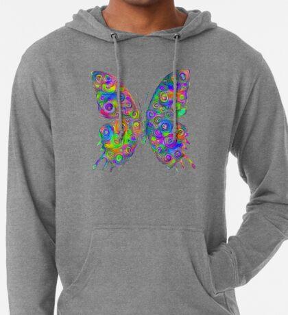 #DeepDream Motley Butterfly Lightweight Hoodie