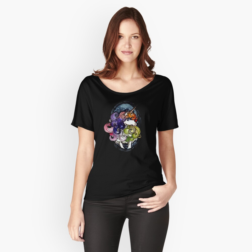 Unicorn Women's Relaxed Fit T-Shirt Front