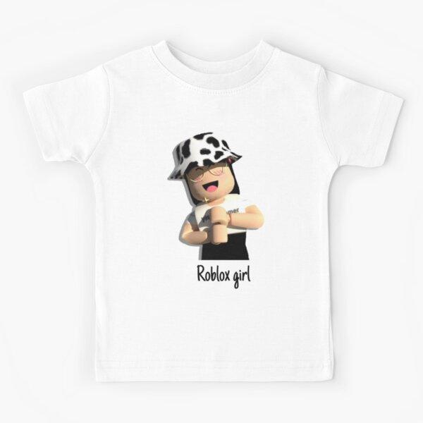 Roblox girl Kids T-Shirt