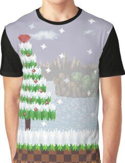 Green Hill Christmas Graphic T-Shirt