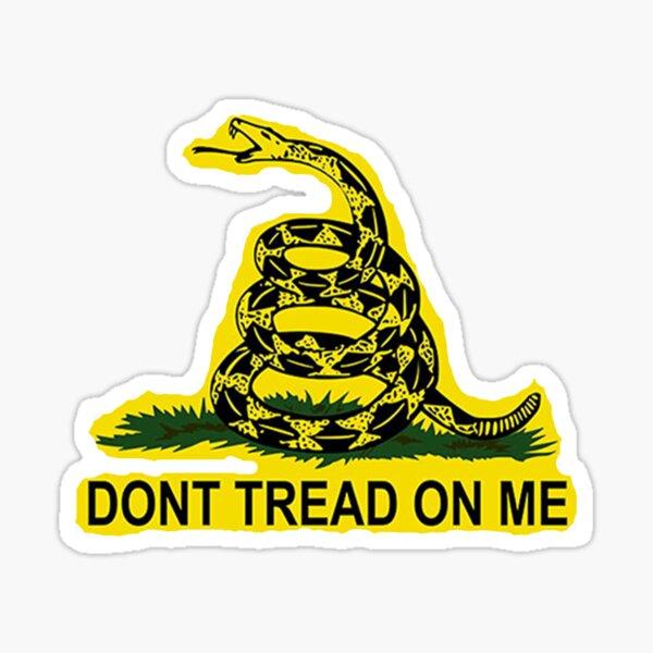 Don't Tread On Me Gadsden Flag American Flag  Sticker