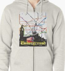 Underground Overground Zipped Hoodie