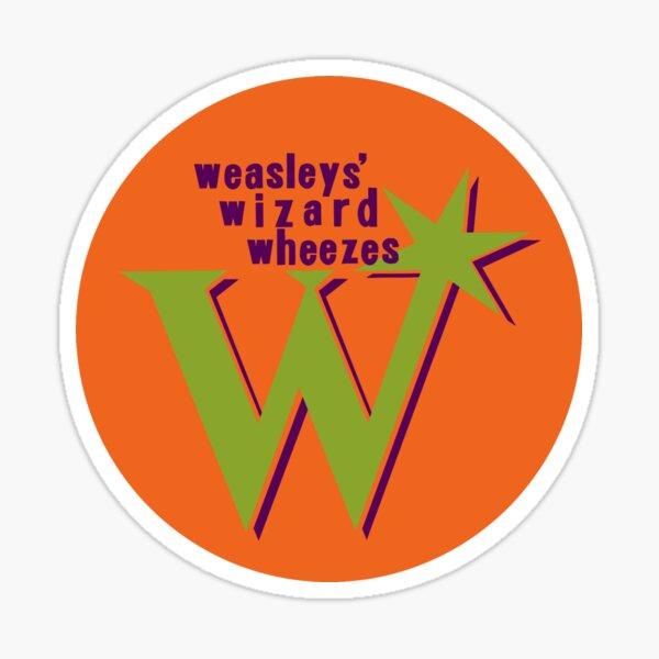 Sifflements du magicien de Weasley Sticker