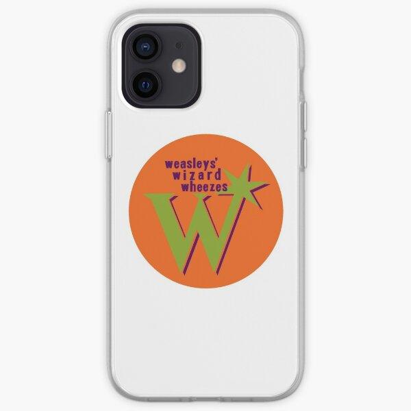 Sifflements du magicien de Weasley Coque souple iPhone