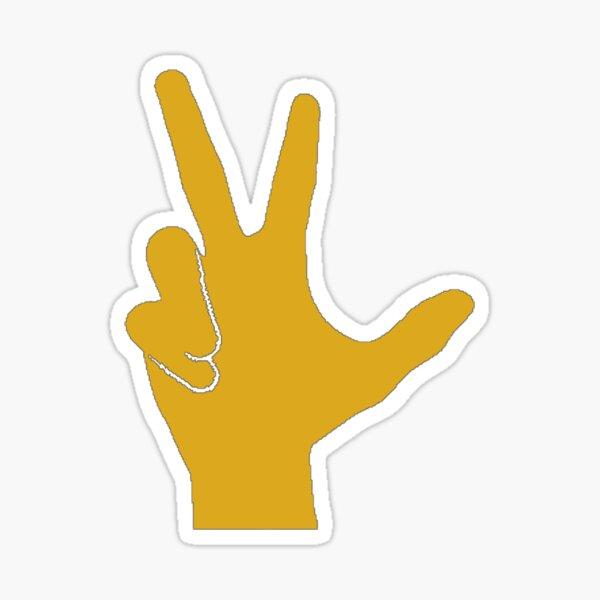 Vandy Hand Sign Sticker