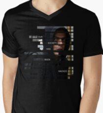 Elliot Alderson - Mr Robot Men's V-Neck T-Shirt