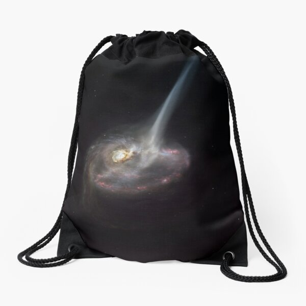 ALMA captures distant colliding galaxy dying out as it loses the ability to form stars Drawstring Bag