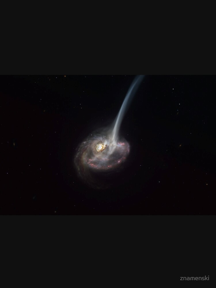 ALMA captures distant colliding galaxy dying out as it loses the ability to form stars by znamenski