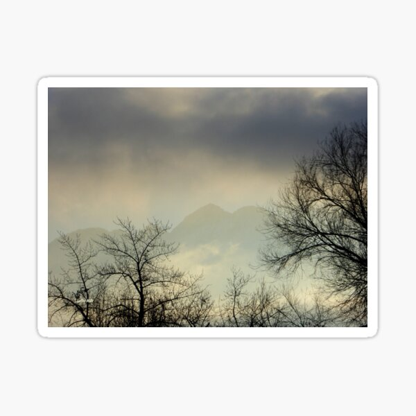 Morning Haze Sticker