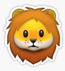 Emoji Lion Sticker