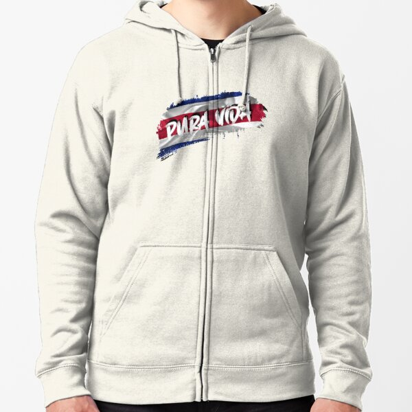 Pura Vida / Costa Rica From THOM SHOP (The House Of Motivation) Zipped Hoodie