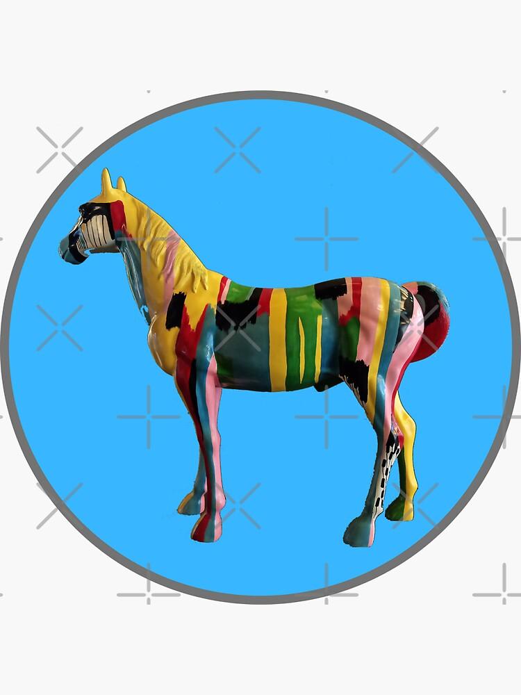 Colorful Horse  by Design-Maniya