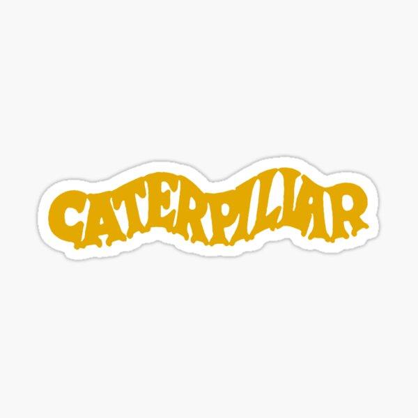 Caterpillar - Old Fashion Sticker