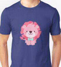 Cute Pink Lion Design Unisex T-Shirt